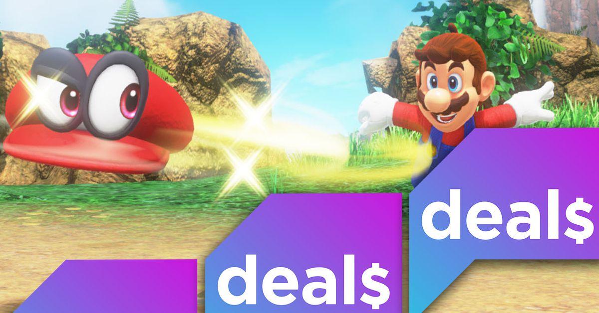 Best gaming deals: Nintendo Switch games and storage, Sega Genesis Mini