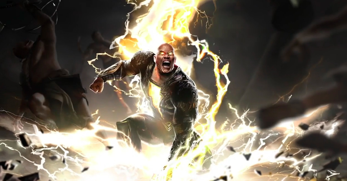 Black Adam movie first look: The Rock teases Justice Society showdown