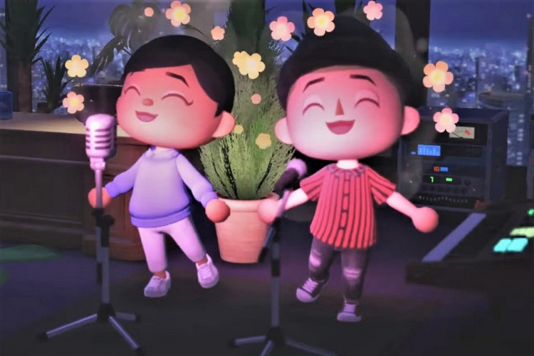 Check Out Selena Gomez Perform Inside Animal Crossing