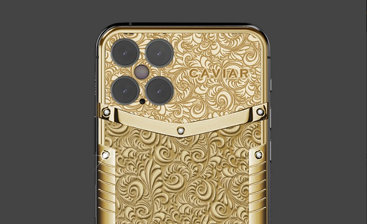 """Check Out This """"Pure Gold"""" iPhone 12 From Caviar"""