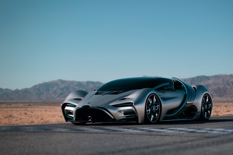 Check Out the Hyperion XP-1, a Hydrogen-Powered Supercar