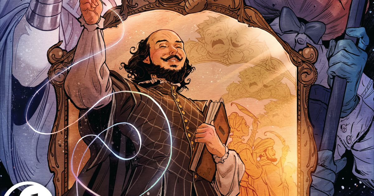 DC Comics newest Sandman book explores Neil Gaiman's version of Shakespeare
