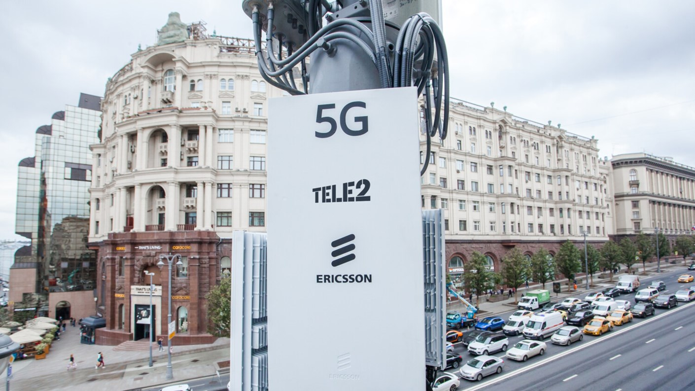Ericsson deploys 25,000 base stations in Russia to support Tele2's 5G rollout