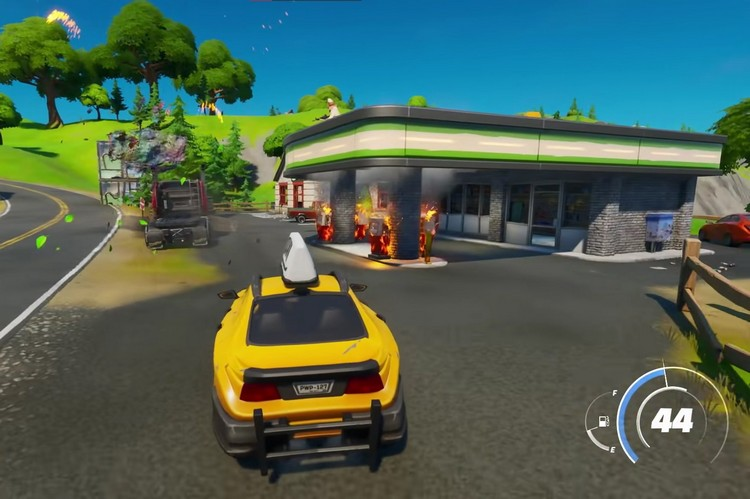 Fortnite Players Are Opening Their Own In-Game Gas Stations