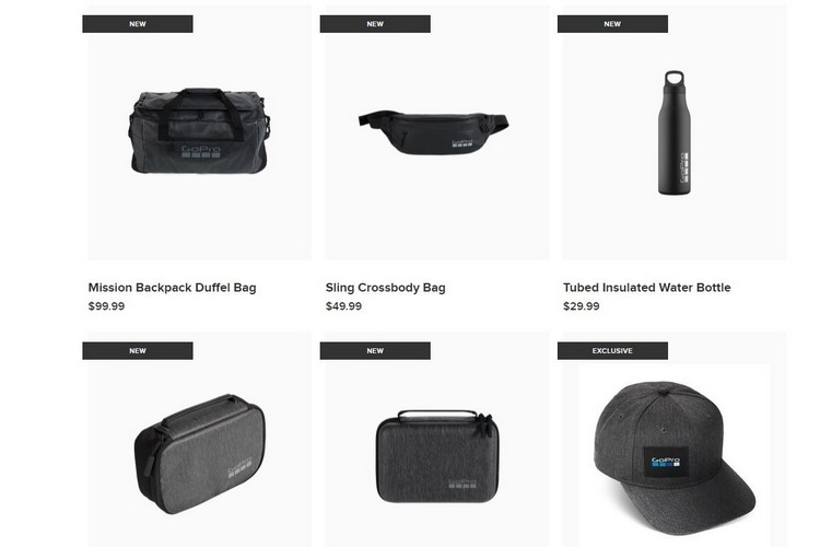 """GoPro's New """"Lifestyle Gear"""" Line of Products Includes a GoPro Water Bottle and a Cap"""