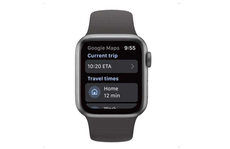 Google Maps is back on Apple Watch after staying away for three years