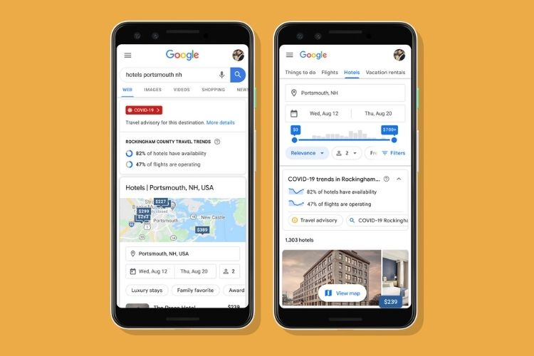 Google Search Is Ready to Help You With Your COVID-19 Travel Plans