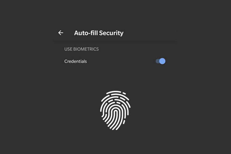 Google's Autofill Now Supports Biometric Authentication on Android