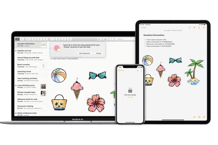 How to Lock Notes in Apple Notes on Mac and iPhone