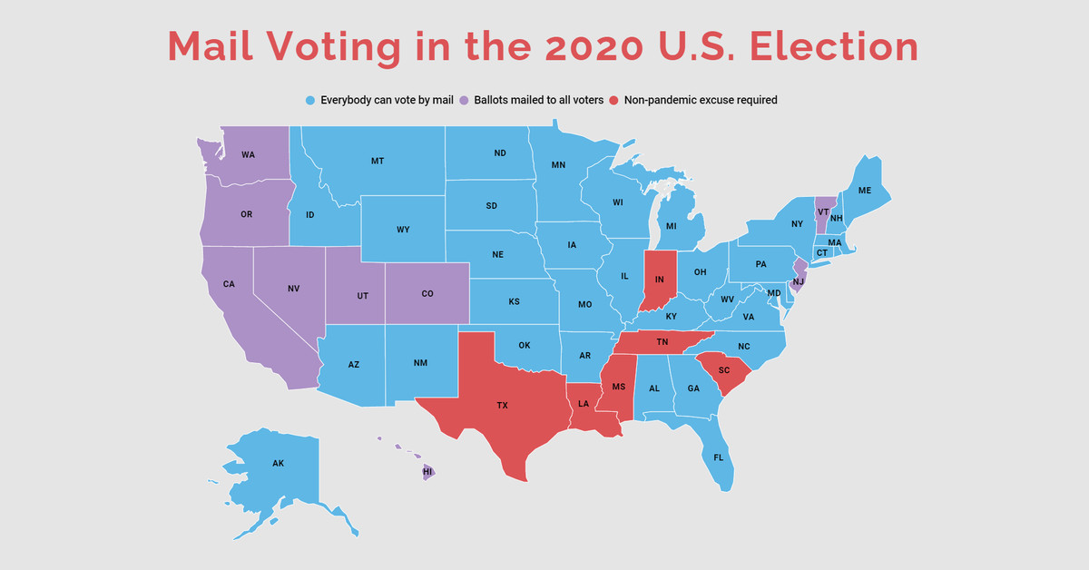 How to vote by mail in the 2020 U.S. election