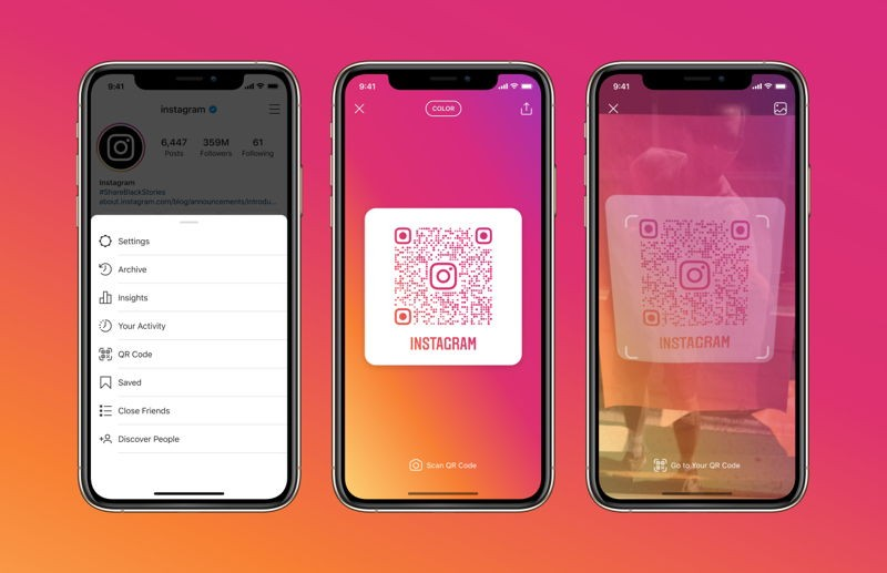 Instagram rolls out QR codes support globally for easier profile sharing