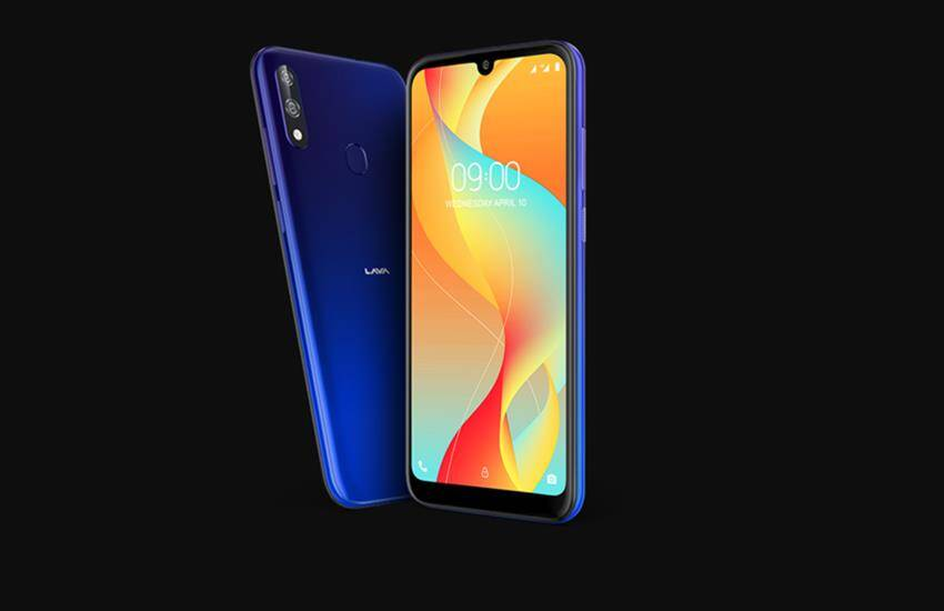 Lava Z66 price, indian mobile company lava launched budget smartphone, available soon on flipkart, amazon, non chinese smartphone - non chinese smartphone: lava z66 budget phone launched in india