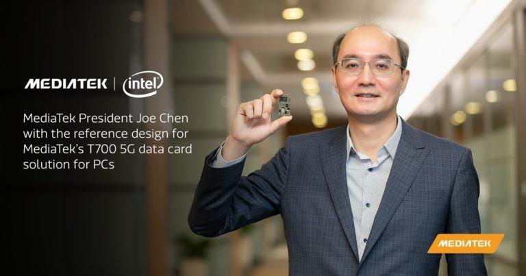 MediaTek T700 modem is developed in partnership with Intel for 5G laptops