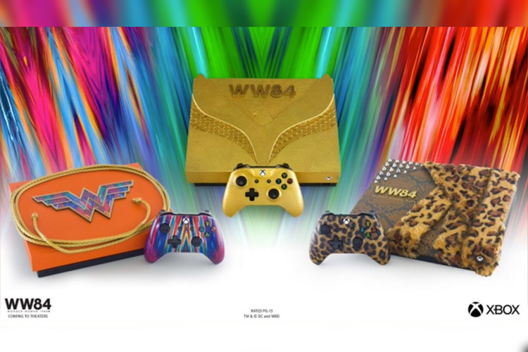 Microsoft Made Three Wonder Woman Xbox One Consoles and You Can Win Them