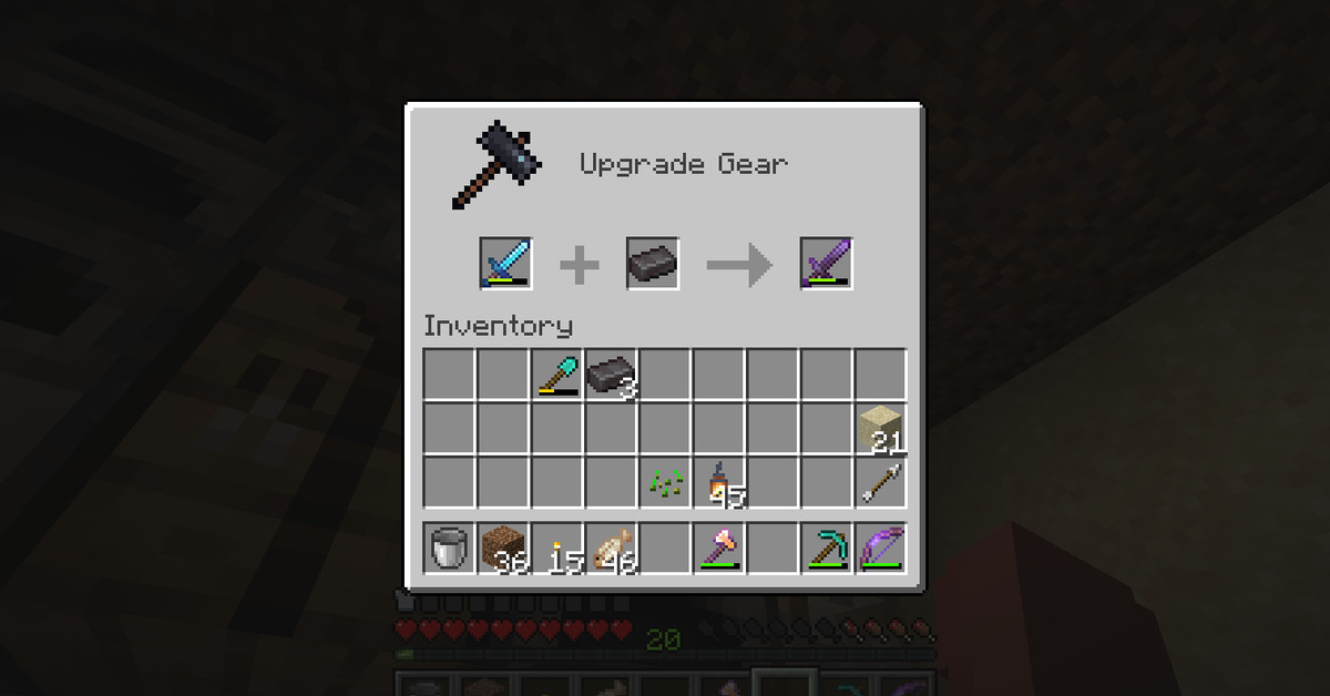Minecraft guide: How to make Netherite tools and weapons