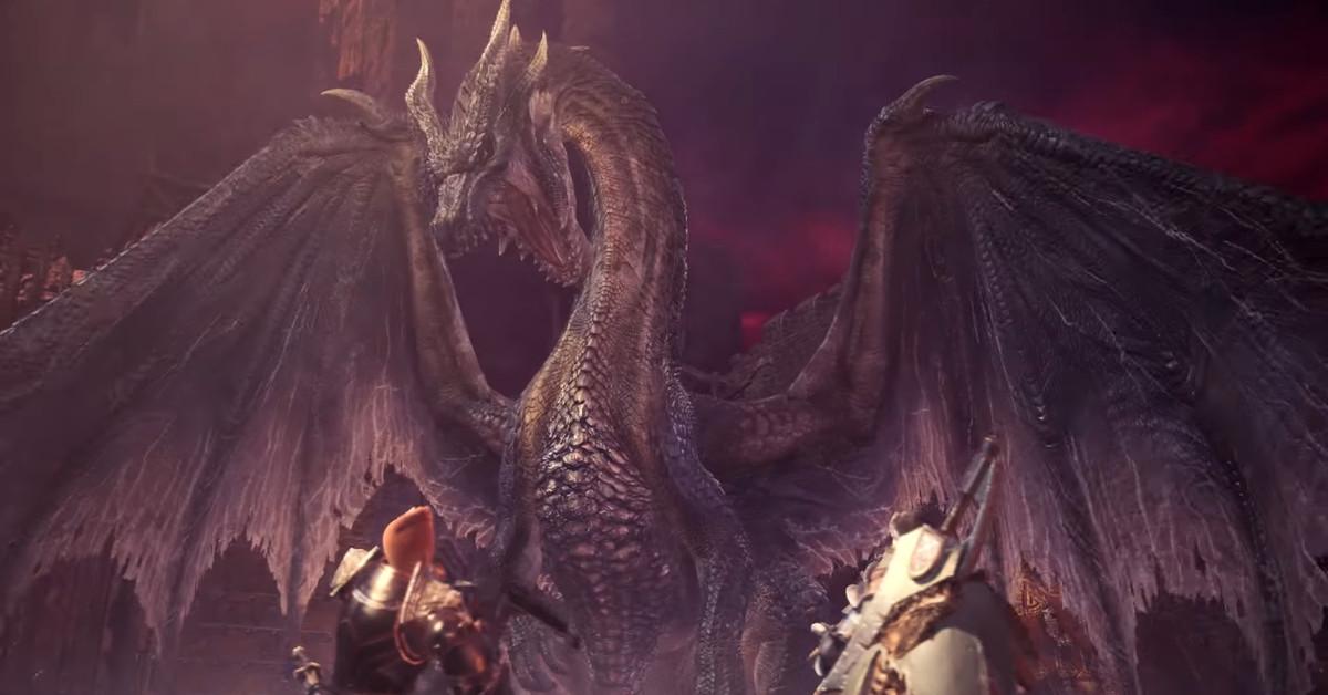 Monster Hunter World's final update has a fan-favorite black dragon