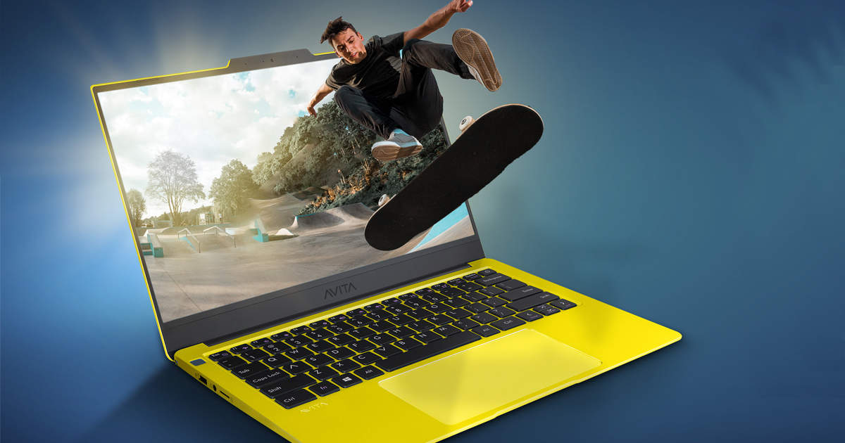 New laptop launched with top-up camera and fingerprint, know price - avita liber v14 laptop launched in india with fingerprint and top up camera