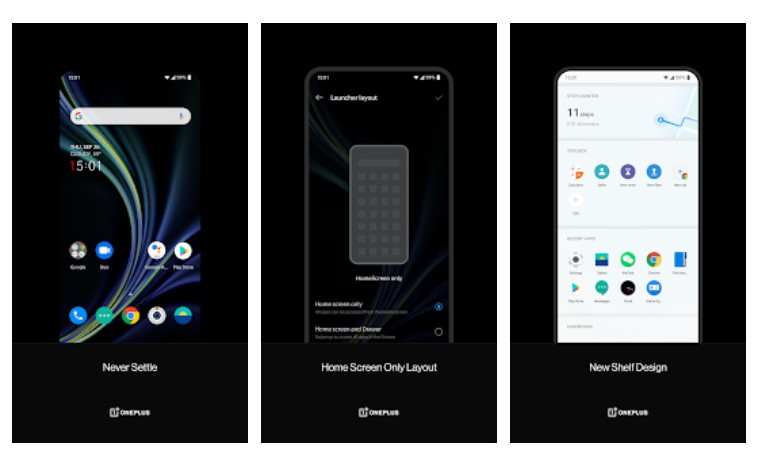 OnePlus Launcher enables OnePlus Scout to let you search for anything on the phone