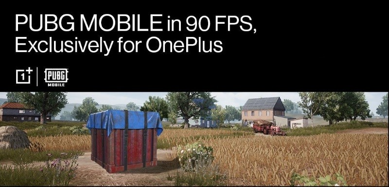 PUBG Mobile 90fps exclusively available on OnePlus devices