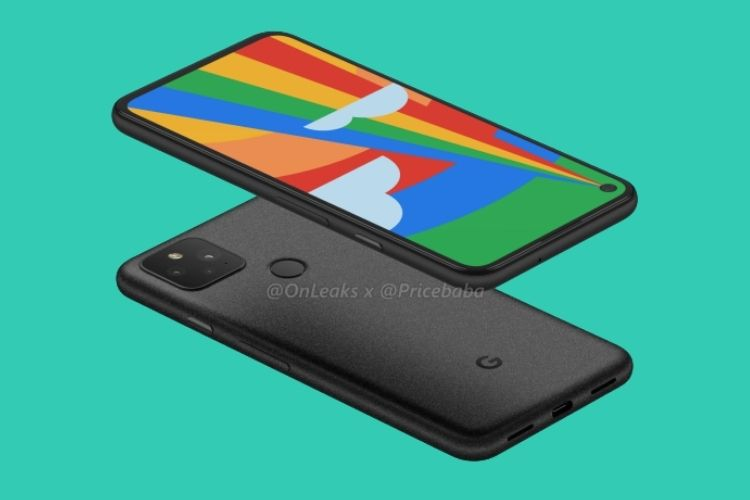 Pixel 5 Renders Offer Best Look at the Punch-Hole Display, Dual-Cameras, & More