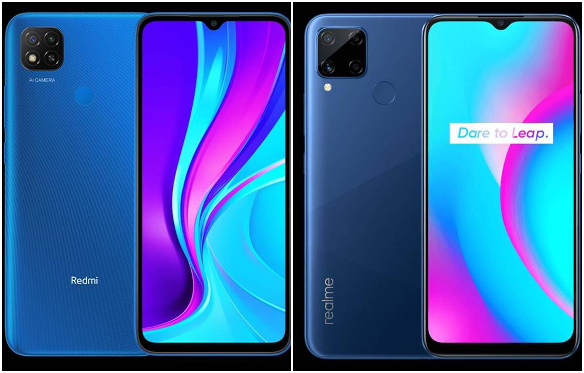 Redmi 9 vs Realme C15 comparison of budget smartphones, features, specifications and price in detail -Redmi 9 vs Realme C15: Which budget phone is more powerful in less than 10 thousand, know