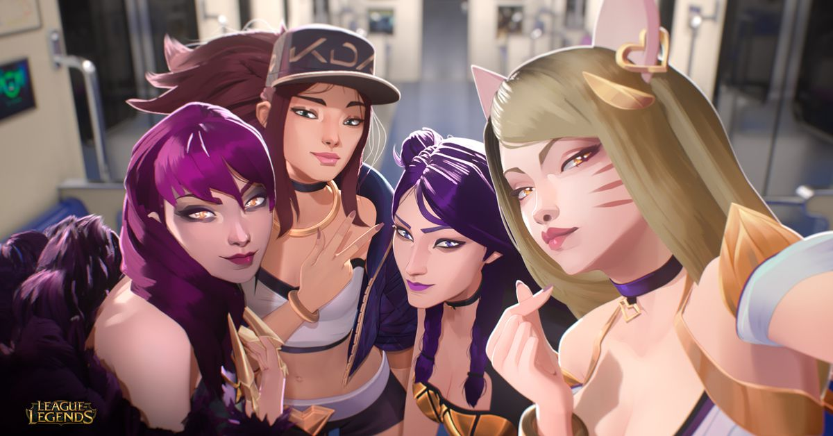 Riot Games' League of Legends K-pop group, K/DA, is coming back