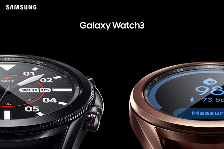 Samsung Galaxy Watch 3 Launched with ECG; Priced at $399.99