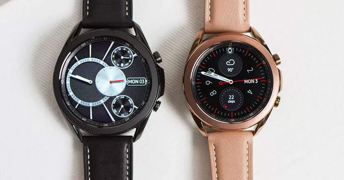 Samsung Galaxy Watch 3: Samsung Galaxy Watch 3 and Galaxy Buds Live earphones launched, know what's special - samsung galaxy watch 3 and samsung galaxy buds live launched