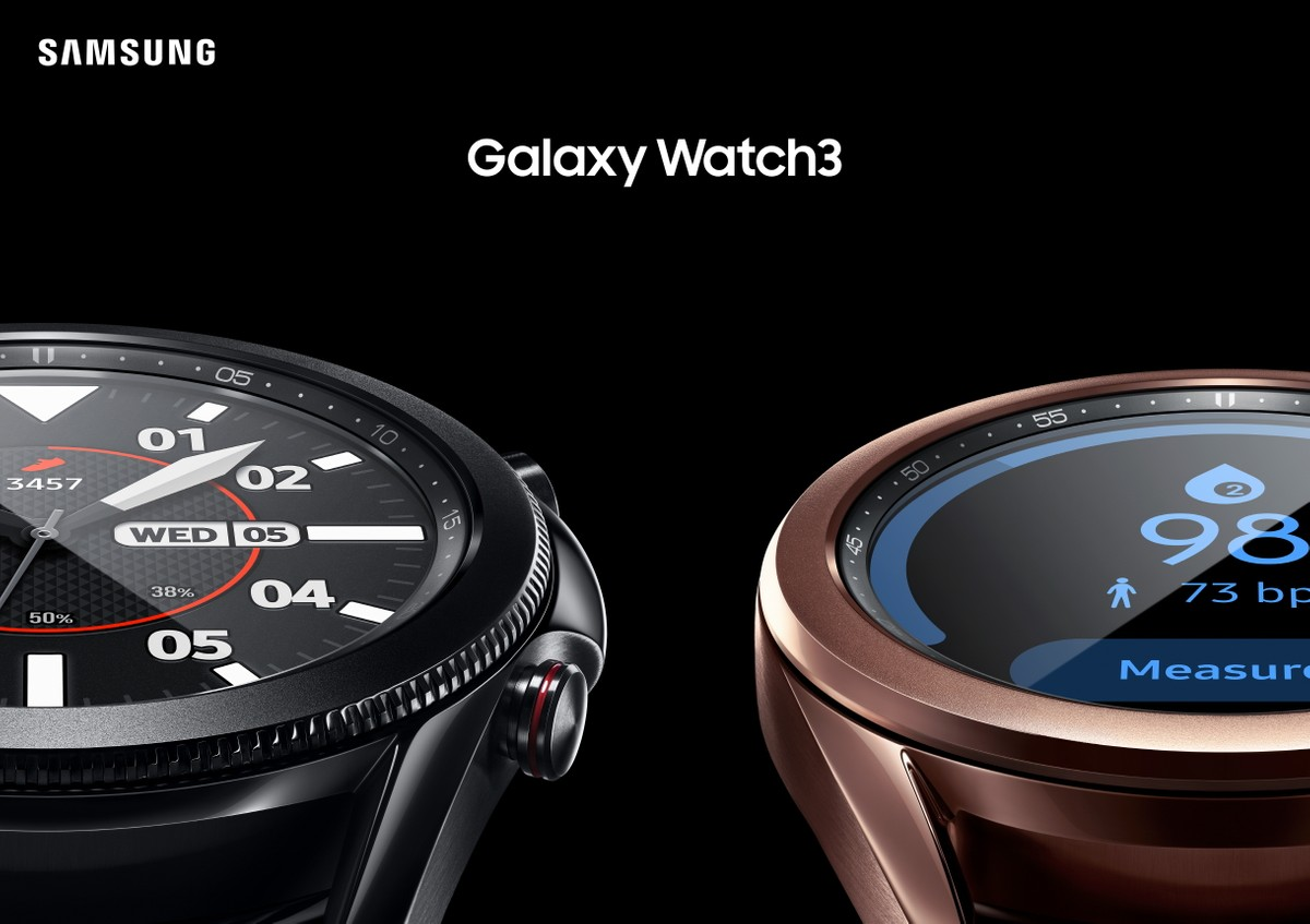 Samsung Galaxy Watch 3 and new bean-shaped Galaxy Buds Live launched at Unpacked 2020