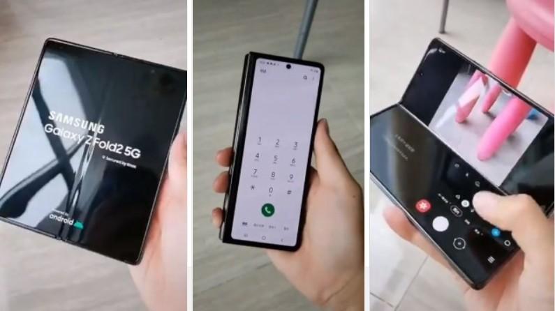 Samsung Galaxy Z Fold 2 appears in hands-on videos