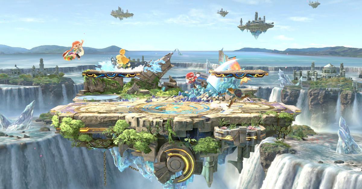 Smash Bros. gets a 'small battlefield' and the internet is delighted