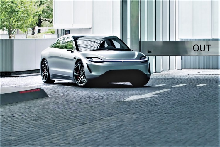 """Sony to Test Its """"Vision-S"""" Concept Car on Public Roads Later This Year"""