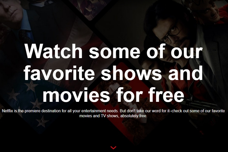 You Can Now Watch Select Movies and Series on Netflix for Free