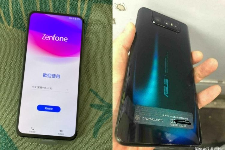 ZenFone 7 Real-Life Images & Specs Leak Ahead of Official Launch