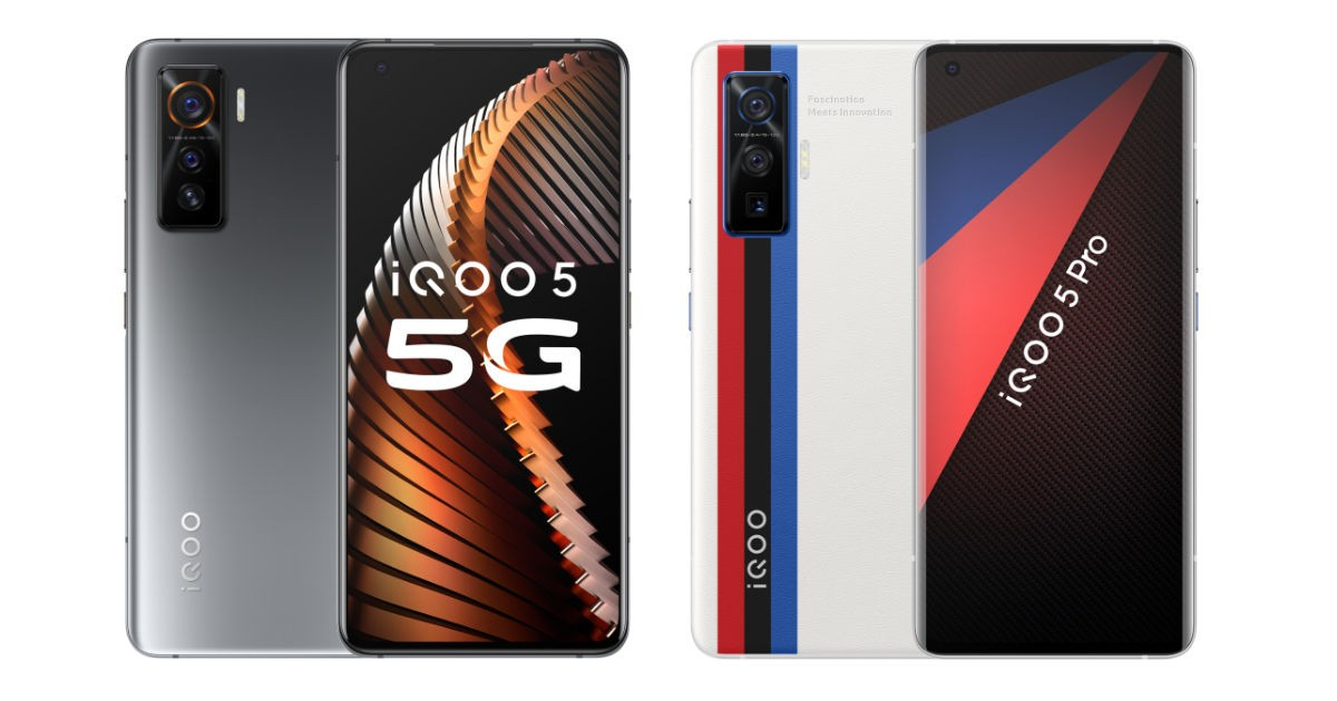 iQOO 5 Pro with 120W fast-charging, Snapdragon 865 SoC launched