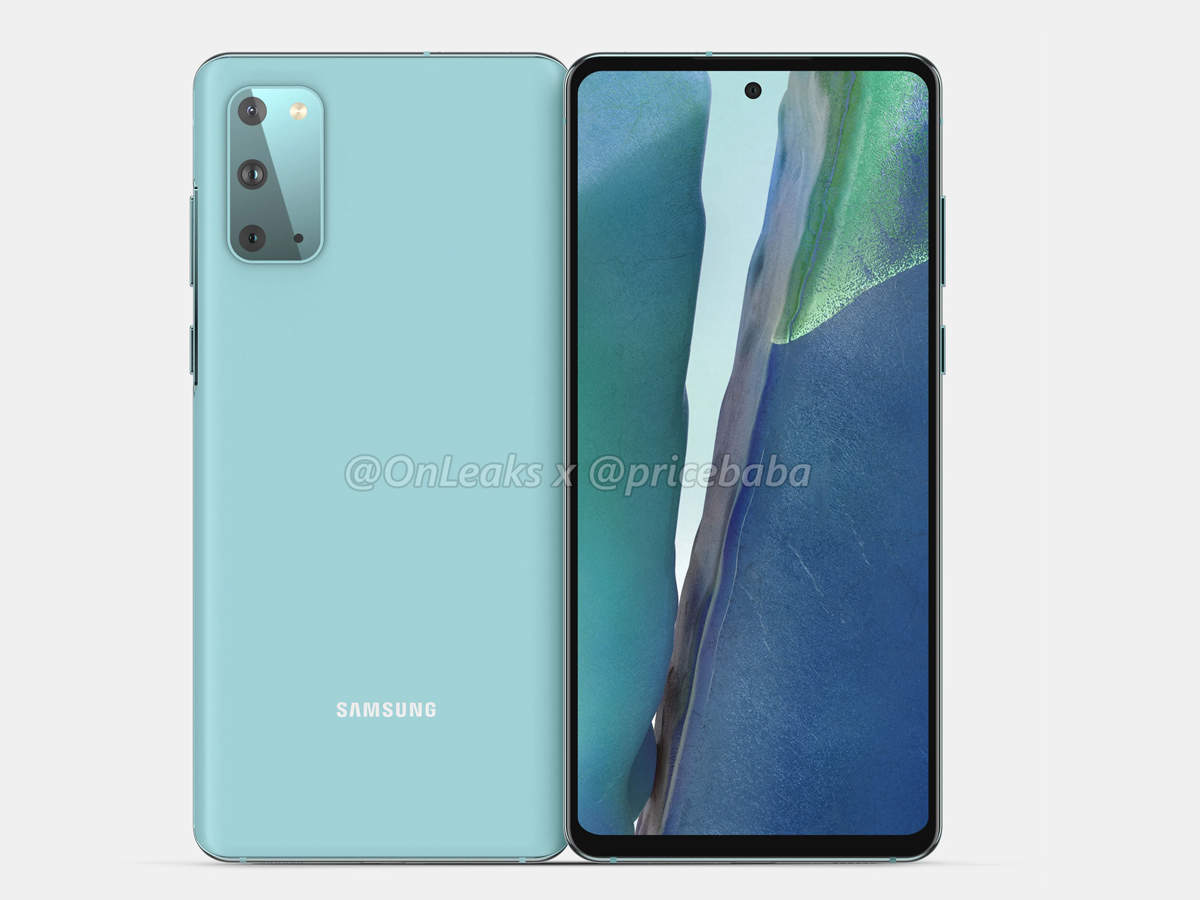 samsung galaxy s20 fe 5g: Cheap 5G model of Samsung Galaxy S20 coming, photos revealed - samsung galaxy s20 fe 5g render images leaked specifications of this cheaper version