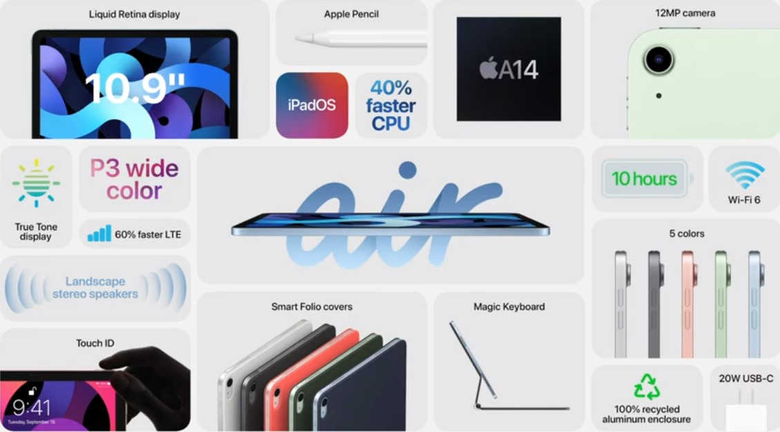 Apple iPad Air is redesigned and has iPad Pro-like features for $599