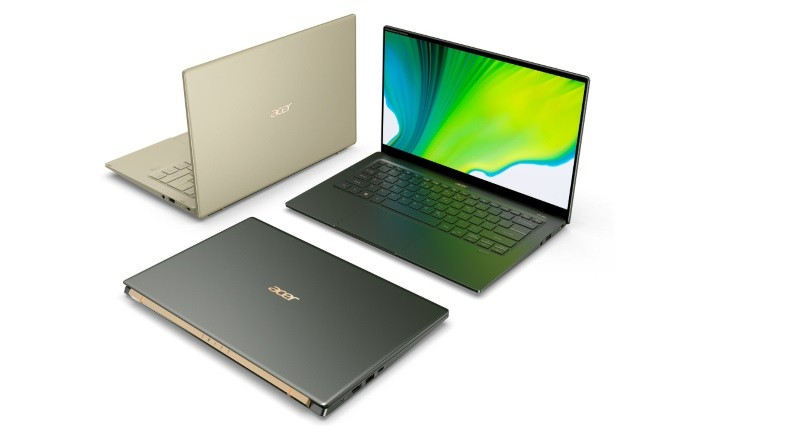 Acer Swift 5, Swift 3 refreshed with 11th-gen Intel Core CPUs