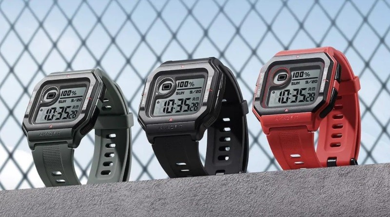 Amazfit Neo smartwatch with retro design, 4 weeks battery life launched