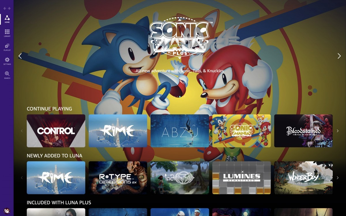 Amazon Luna game streaming service announced for $5.99 per month