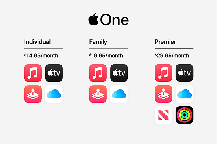 Apple One Subscription Bundles Announced Starting at $14.95