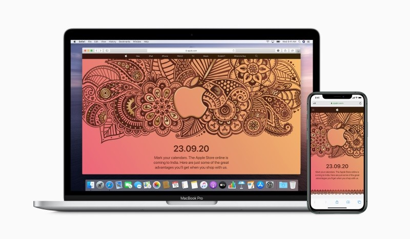 Apple's online store set to go live in India on September 23