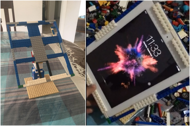 Check Out This iPad Dock Made Out of Legos
