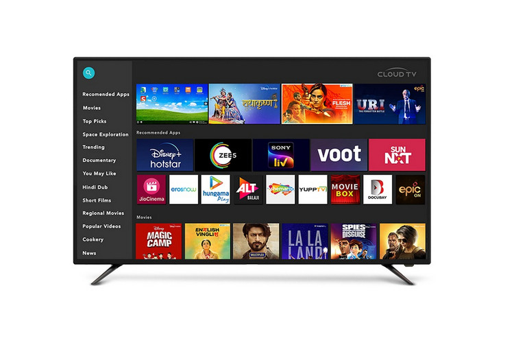 'Cloud TV' is a Customized Android TV-based OS for Indian Audiences