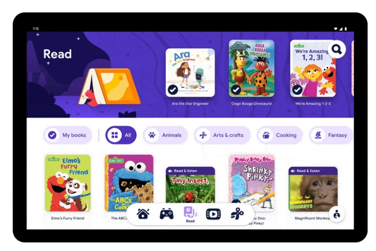 Google Launches Kids Space Mode for Android Tablets