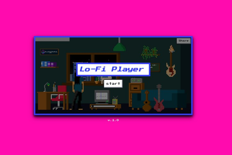 "Google's ""Lo-Fi Player"" Lets You Create Virtual Lo-Fi Music Room"
