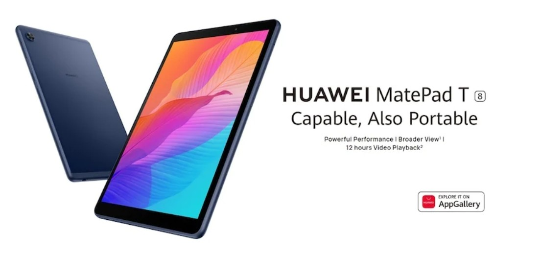 Huawei MatePad T8 with MediaTek chip, 5100mAh battery comes to India