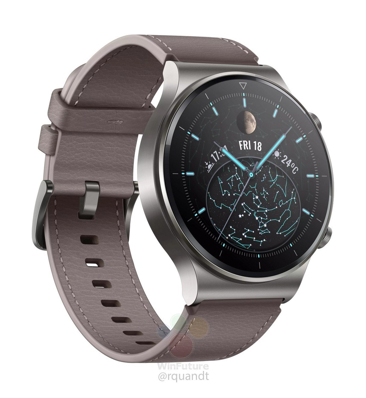 Huawei Watch GT2 Pro leaked in images; Supports wireless charging