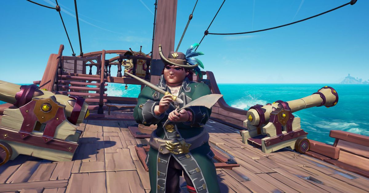 I was taken hostage in a cunning Sea of Thieves heist
