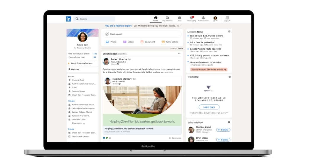 LinkedIn gets Stories, Video chats, ability to delete chats, and more